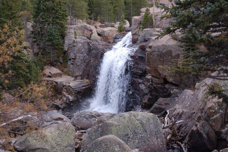 Alberta Falls RMNP Estes Park CO