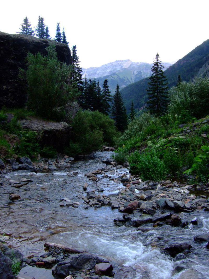 Bear Creek Falls Trail Telluride CO