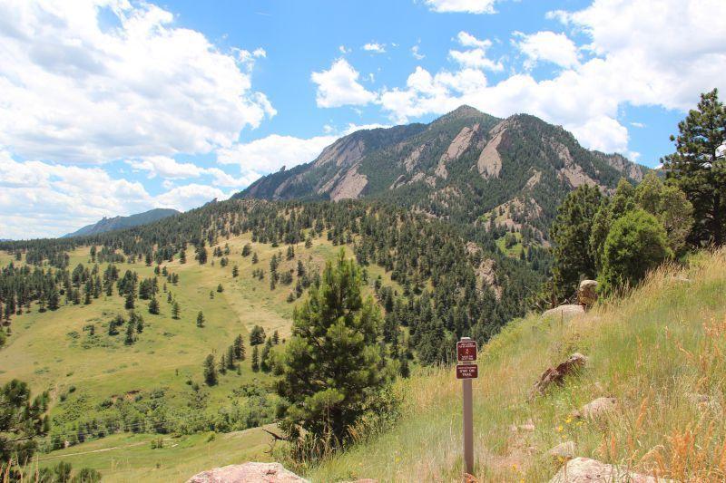 Boulder Peak Trail Boulder CO