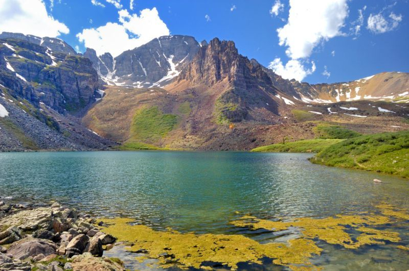Cathedral Lake and Cathedral Peak Aspen CO
