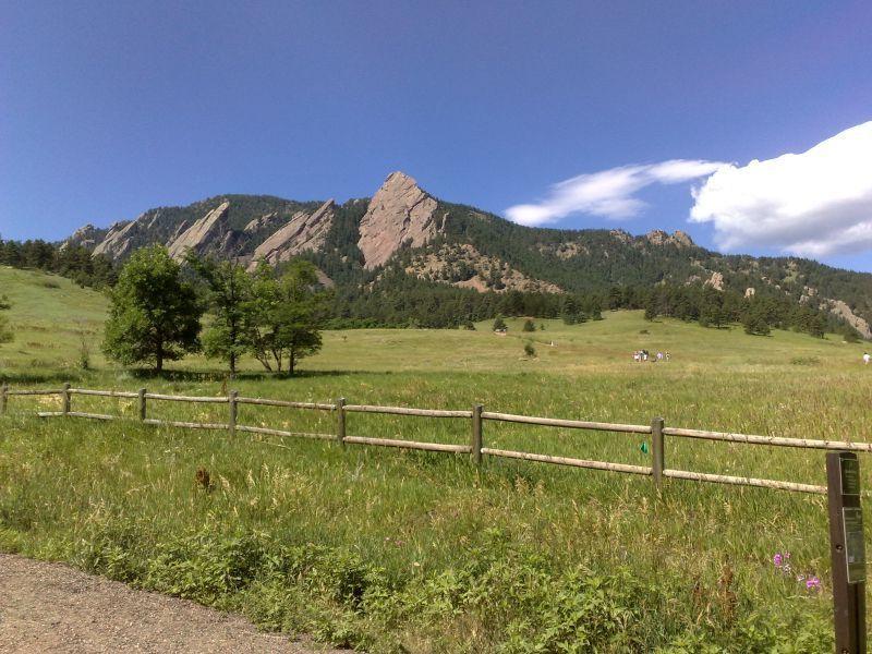 Flatiron Loop Trail Chautauqua Park Boulder CO