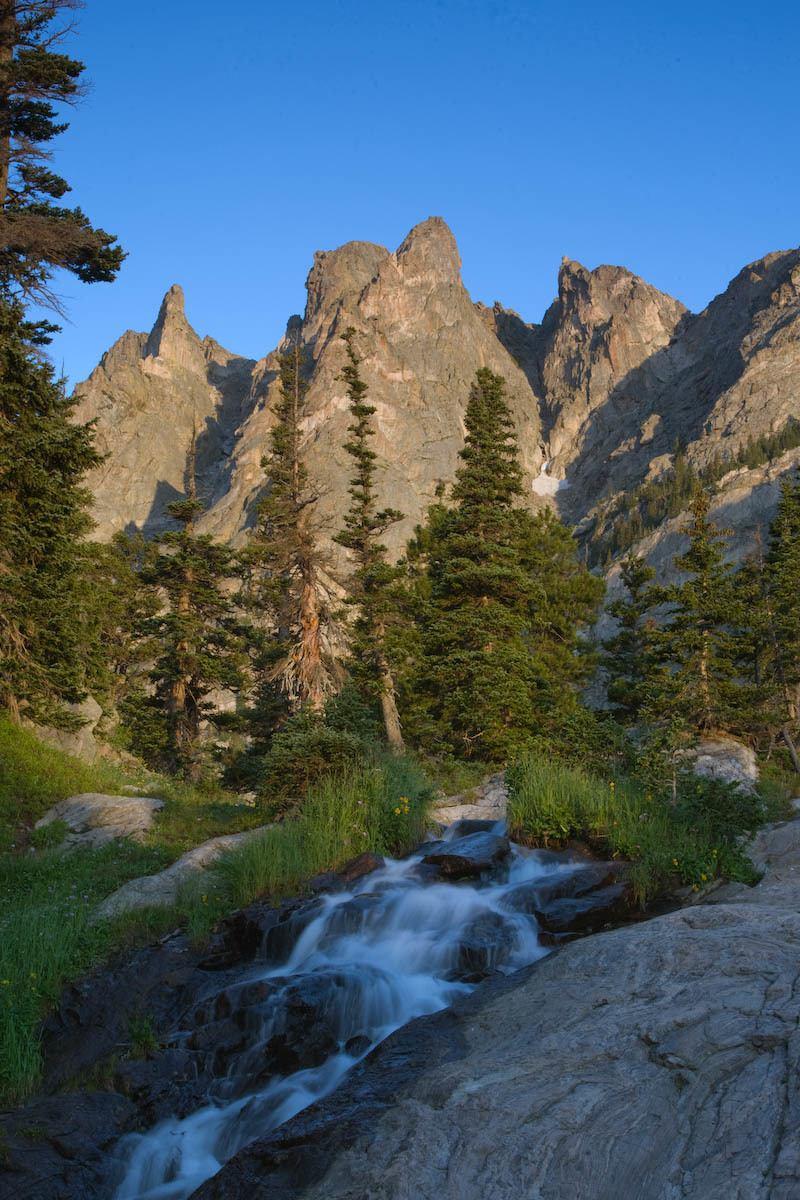 Flattop Mountains From Emerald Lake RMNP Estes Park CO