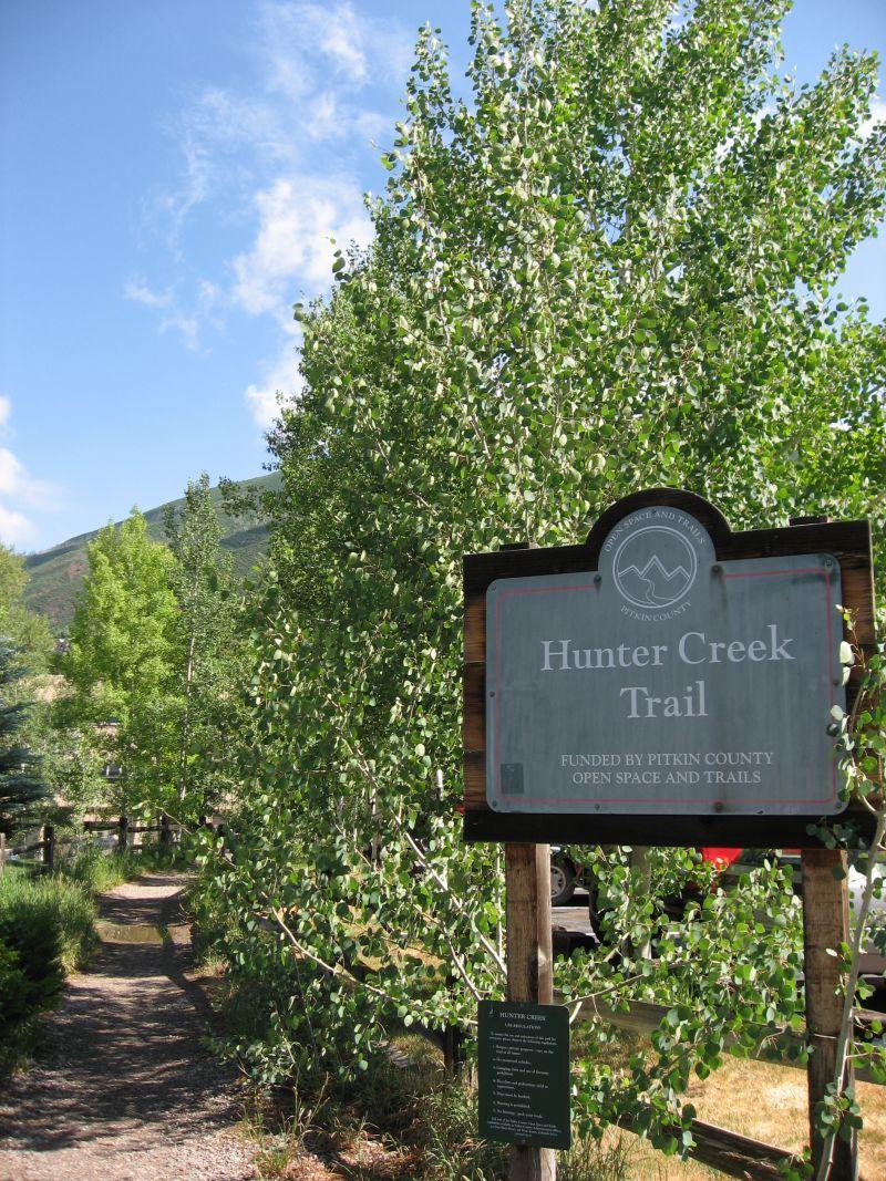 Hunter Creek Trailhead Aspen CO