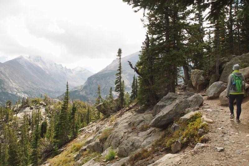Lake Haiyaha Trail RMNP Estes Park CO
