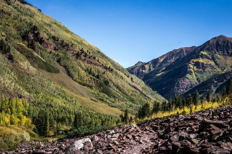Maroon Bells Trail Aspen CO