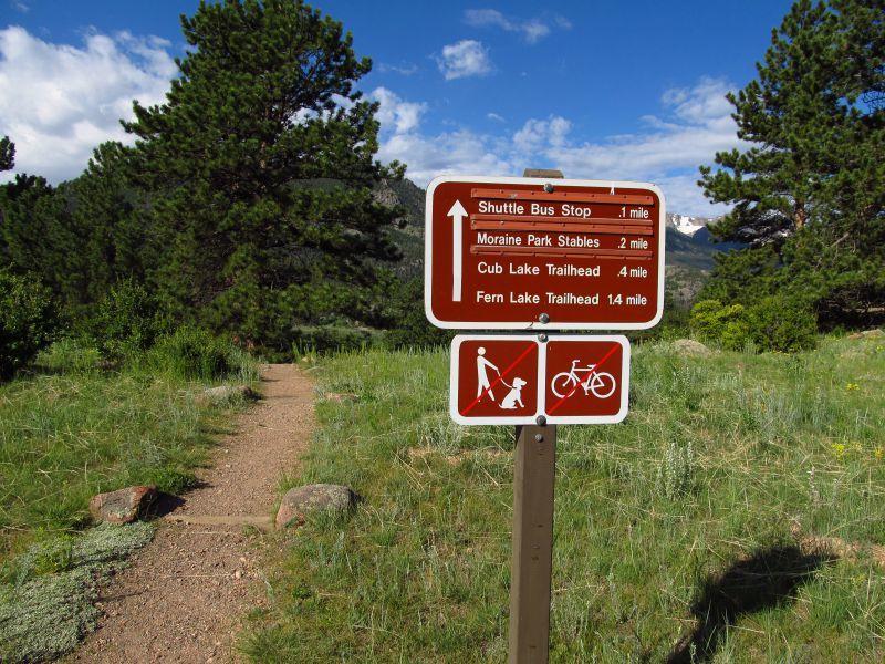 Moraine Park Loop RMNP Estes Park CO