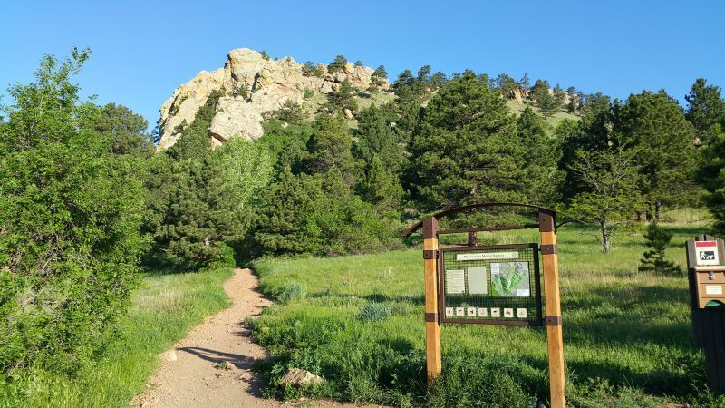 Mount Sanitas Trailhead Boulder CO