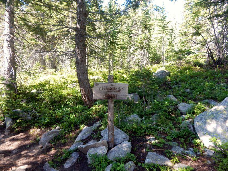 Mt Sopris Trail Sign Aspen CO