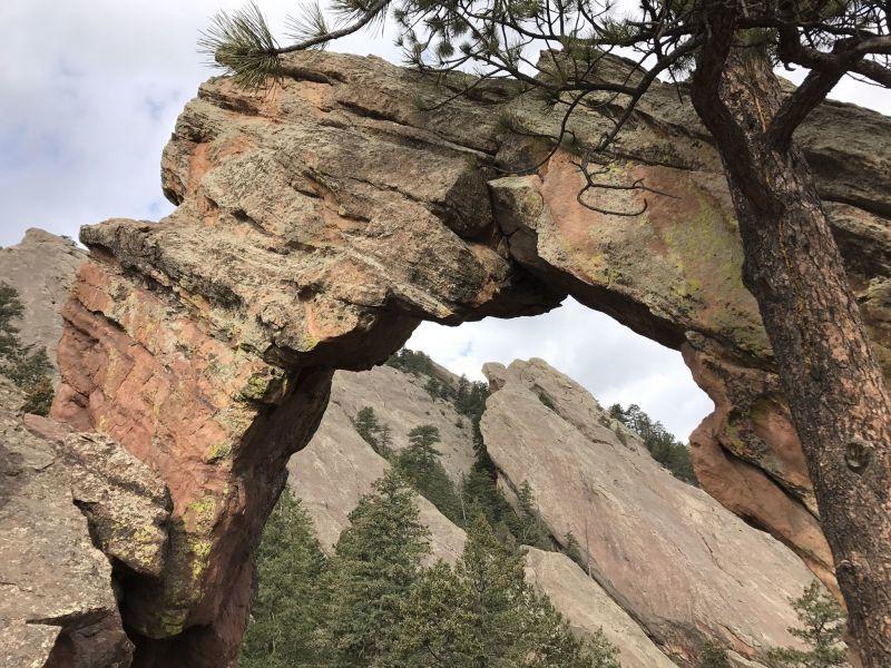 Royal Arch Trail Boulder CO