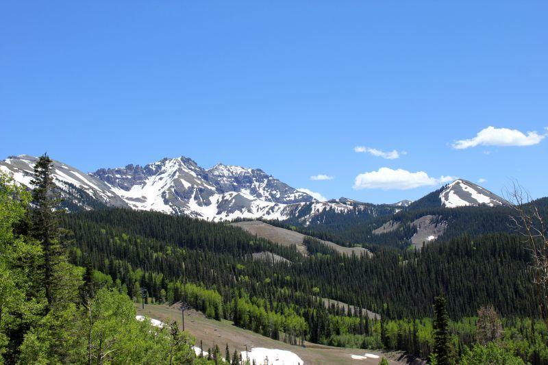 Sneffels Range Over Telluride CO