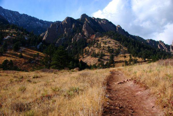 Trail Leading to Bear Peak Boulder CO