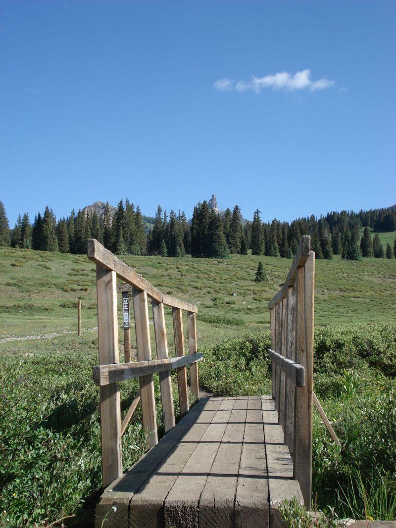 Trailhead to Lizard Head Peak Telluride CO