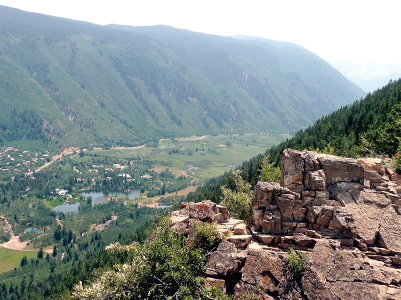 Ute Trail Summit Aspen CO