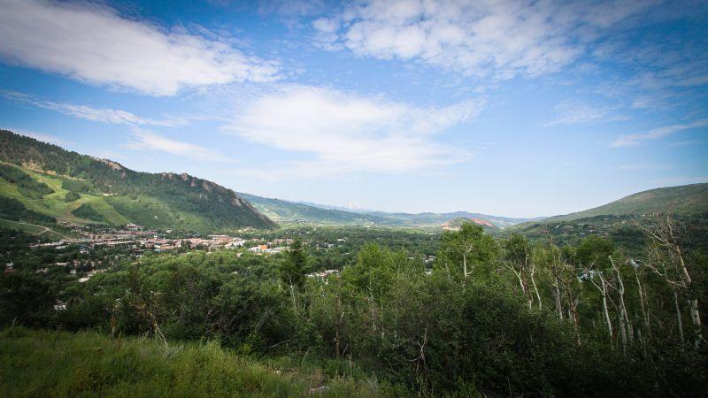 View From Smuggler Mountain Aspen CO