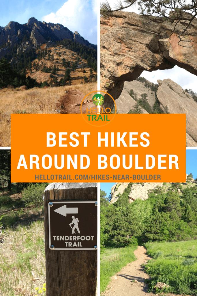 Best Hikes Around Boulder Colorado - HelloTrail
