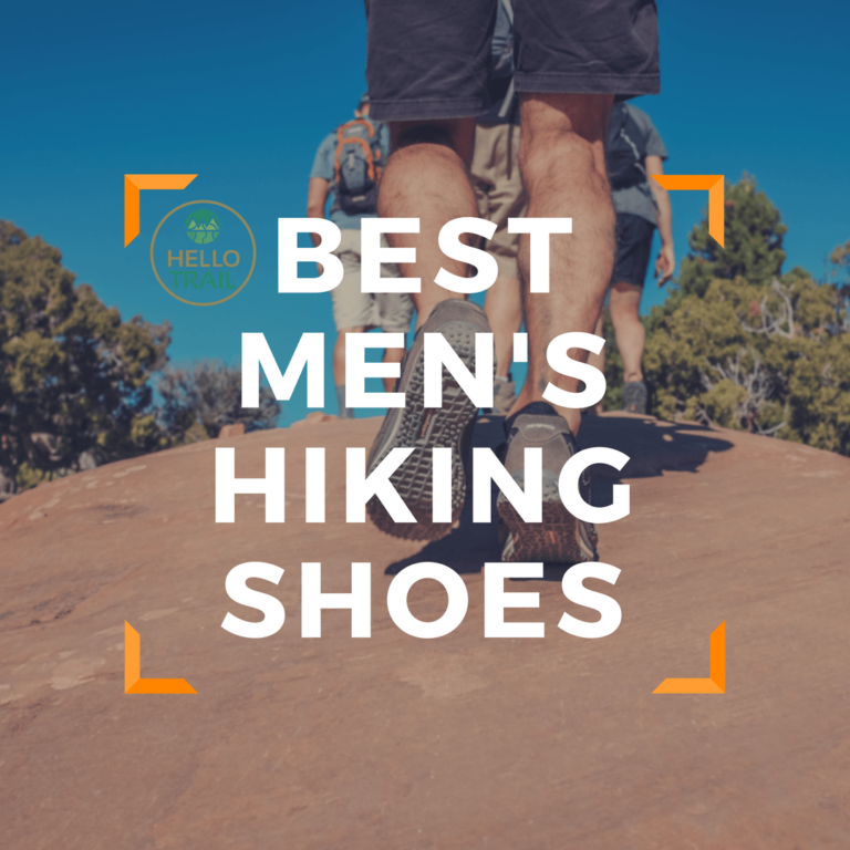 Best Men's Hiking Shoes for the Trail - HelloTrails
