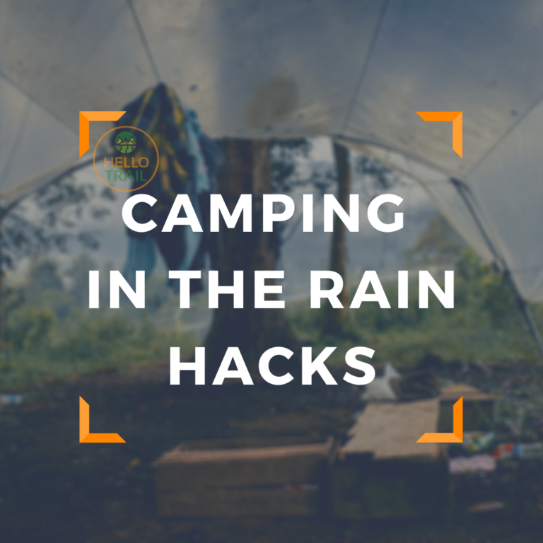 10 Camping in the Rain Hacks That Will Keep You Dry(ish)