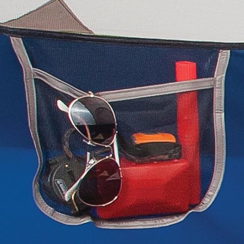 Storage in the coleman sundome tent