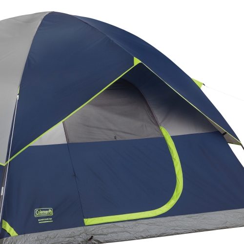 Coleman sundome tent with weather protection