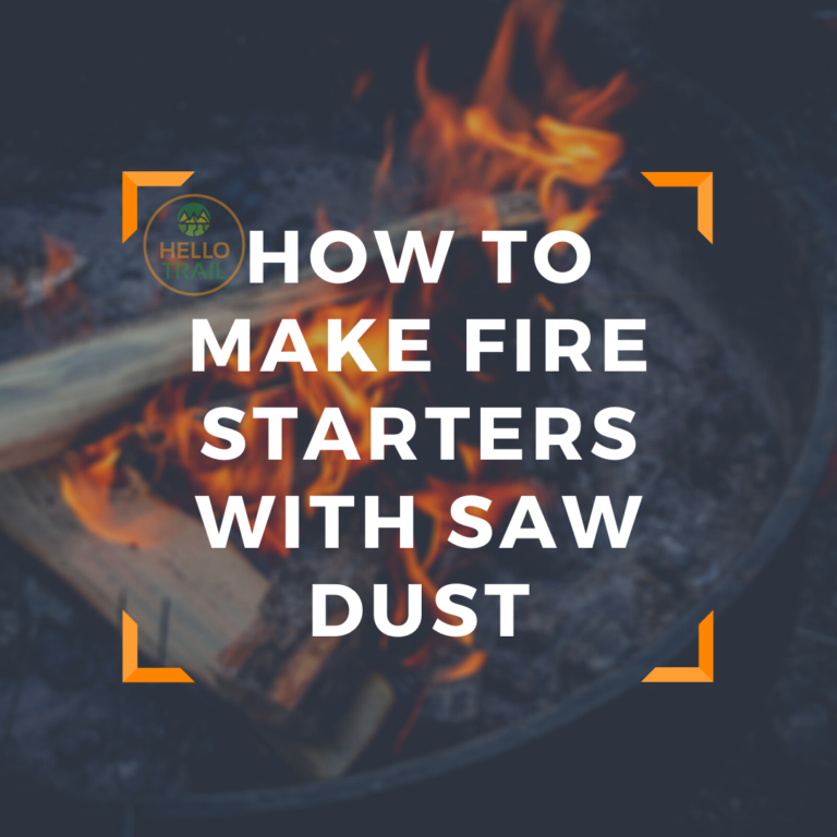 How to Make Firestarters with Sawdust (DIY Campfire Starters)
