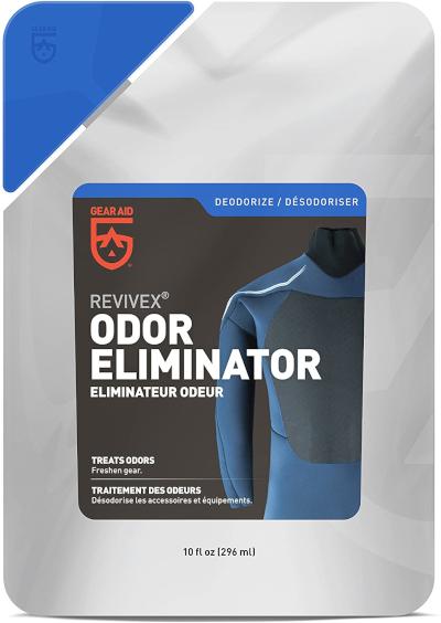 Gear aid odor eliminator