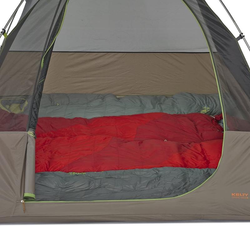 Grand Mesa 4 tent interior