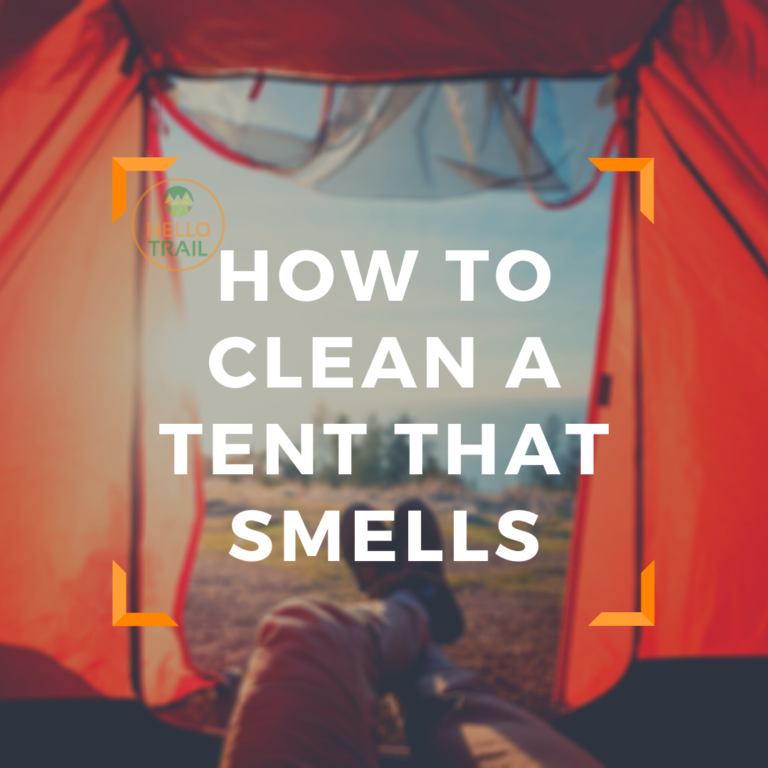 How to Clean a Tent That Smells in 4 Simple Steps