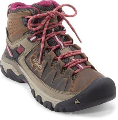 KEEN Women's Targhee II Mid Rugged Hiking Boots