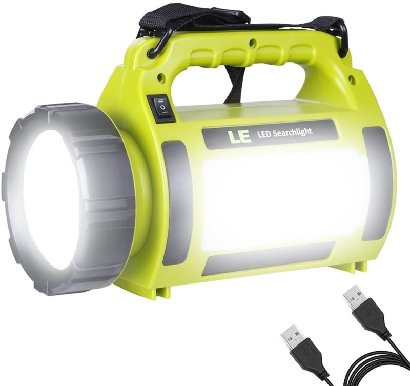 LE Rechargeable Camping Flashlight