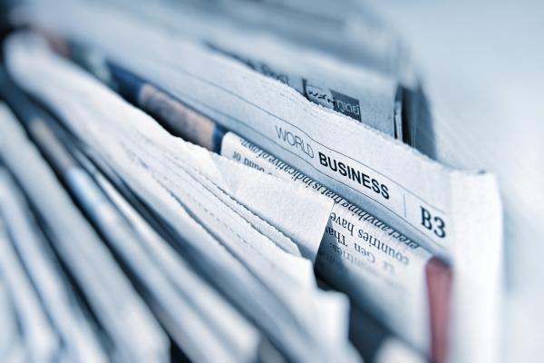 Newspaper as firestarter
