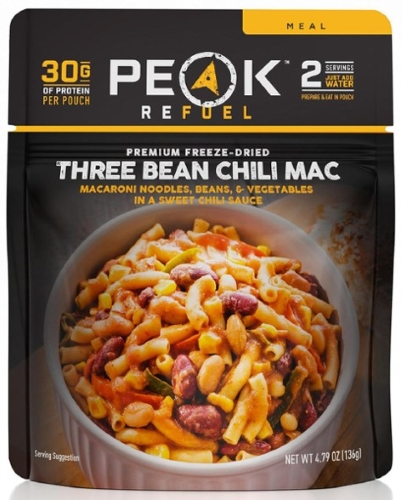 Peak refuel freeze dried food