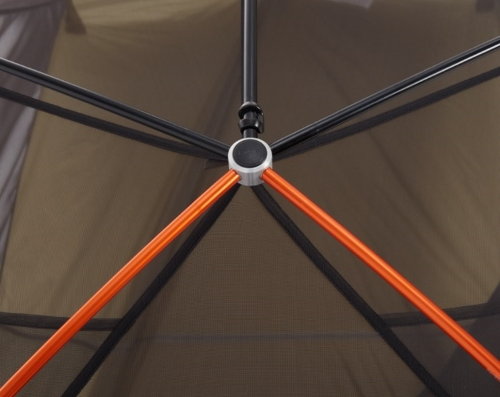 REI quarter dome tent pole system