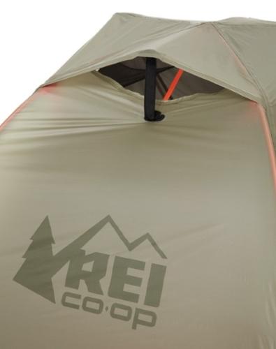 REI quarter dome tent ventilation