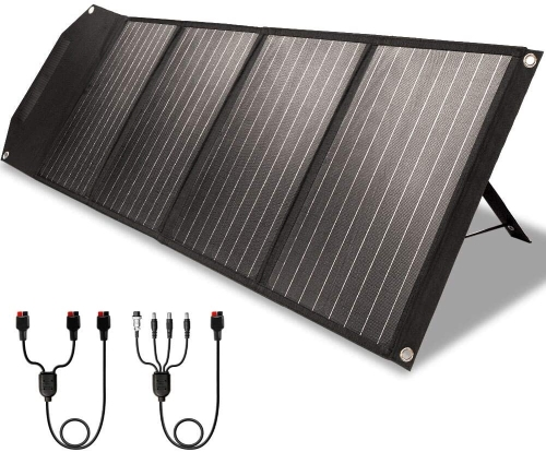 Rockpals foldable solar panel charger