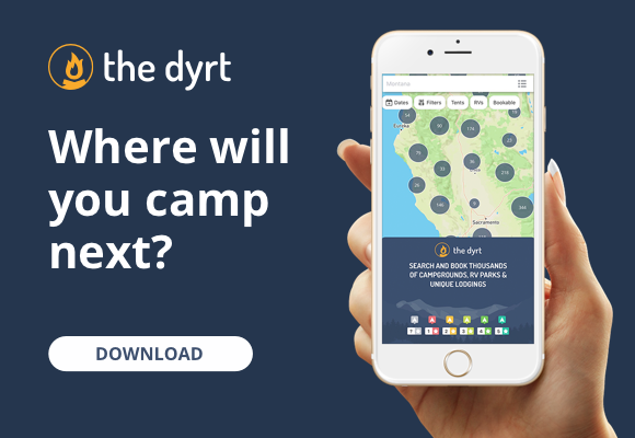 The Dyrt App for Camping
