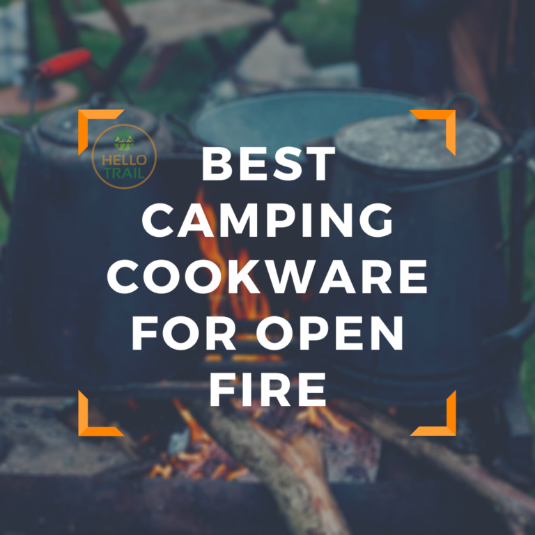 Best Camping Cookware For Open Fire - Hello Trail
