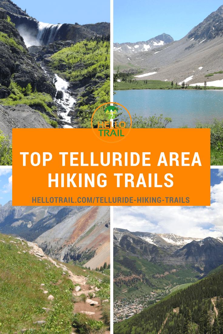 Top Telluride Area Hiking Trails - HelloTrail
