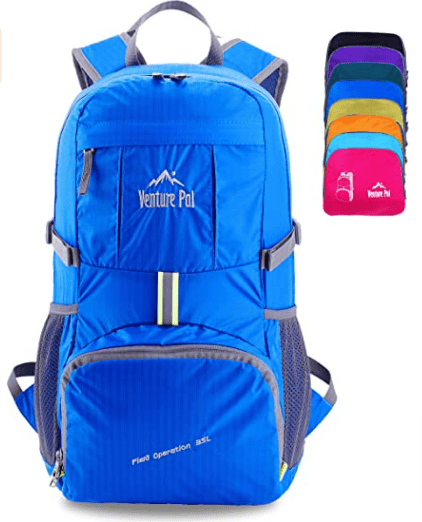 Venture Pal Packable Backpack for Day Hikes