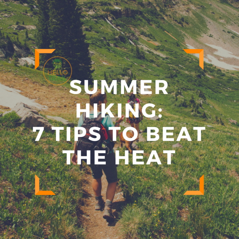 What to wear hiking in hot weather - HelloTrail